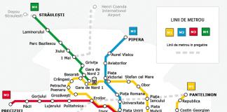 hartă metrou