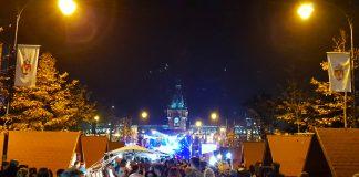 În fața Palatului Culturii din Iași s-a organizat un concert, dar fără artificii