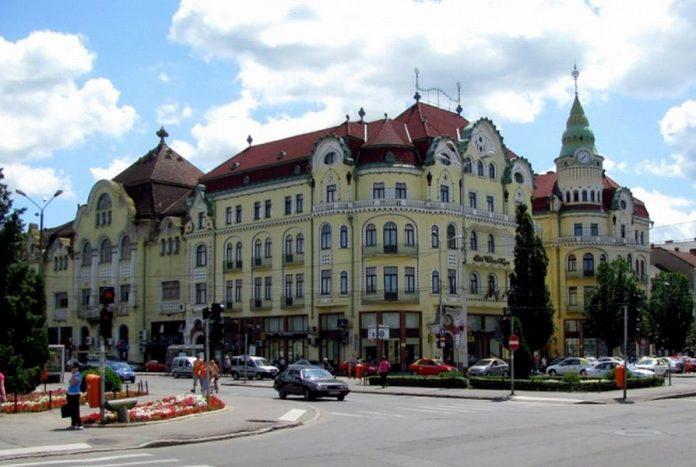 Palatul Vulturul Negru din Oradea FOTO: Oradea.ro