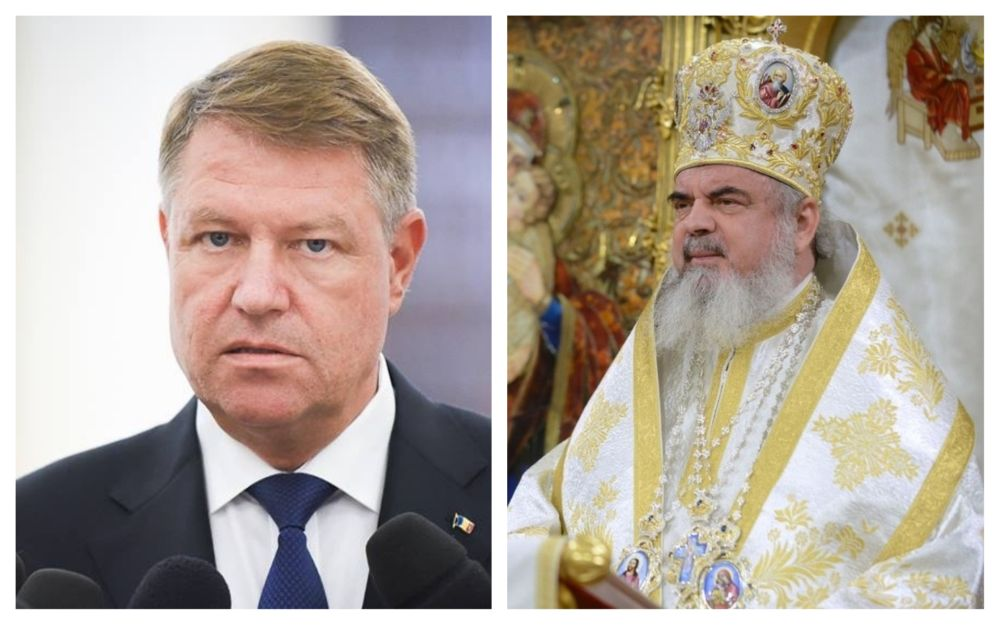 klaus iohannis catedrala mânturii neamului patriarhul daniel