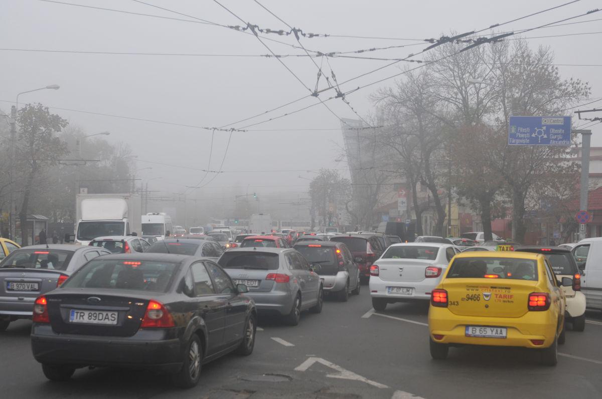 mașini poluare bucurești