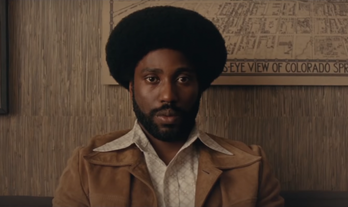 FOTO: Captură video BlacKkKlansman