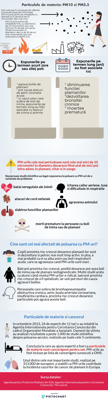 efecte poluare PM10 PM2.5
