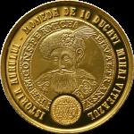 monede aur 10 ducați mihai viteazul