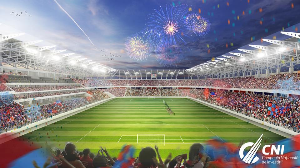 Stadionul Steaua FOTO: CNI