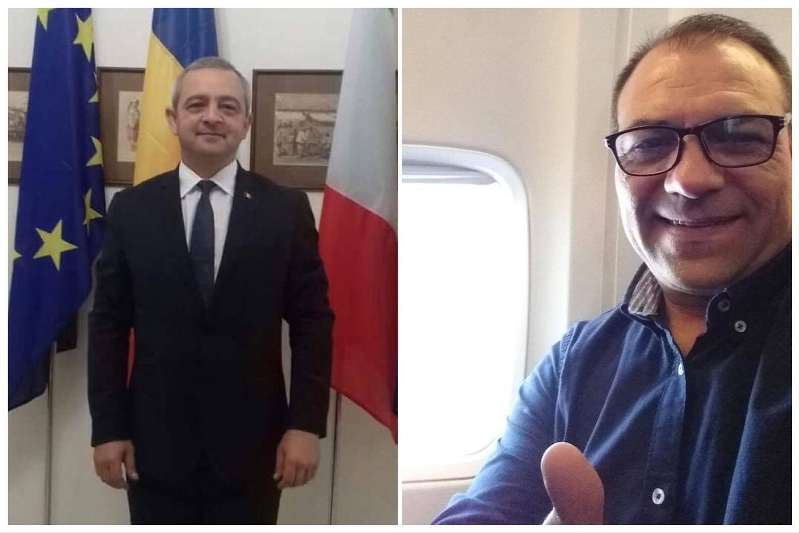 polițiști români italia