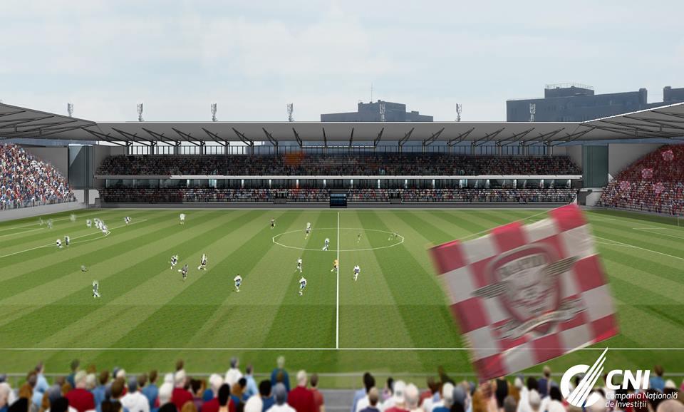 Stadionul Rapid FOTO: CNI