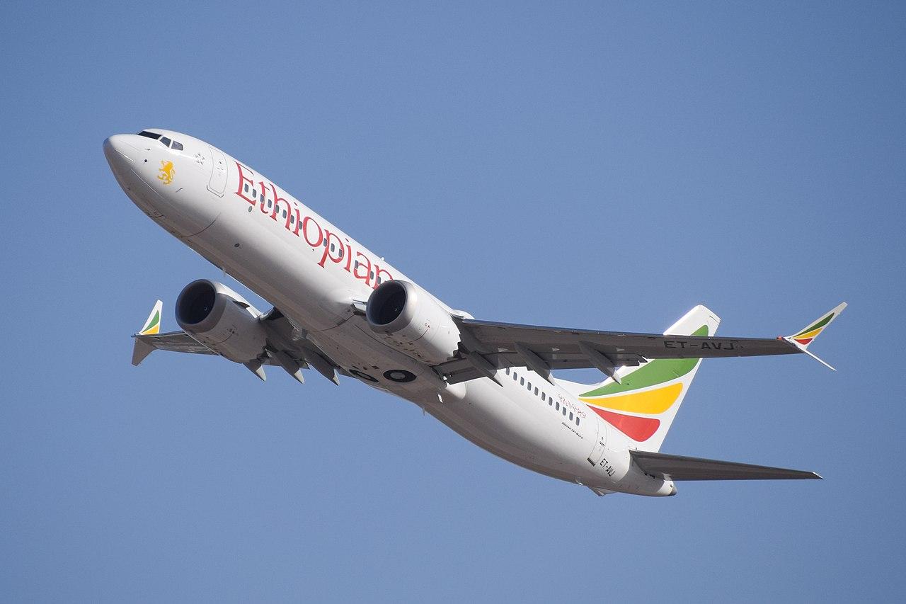 avion etiopia boeing