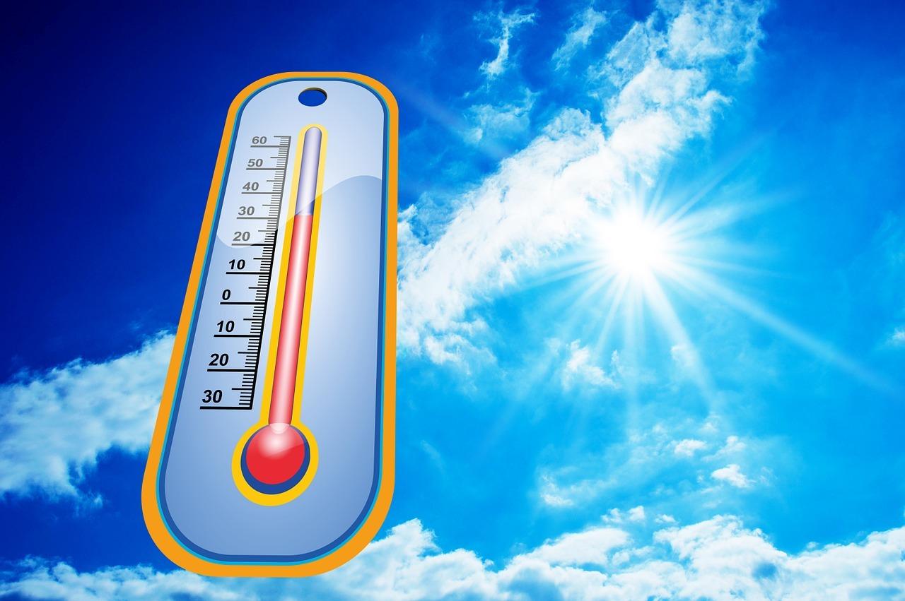 caniculă căldură vară termometru