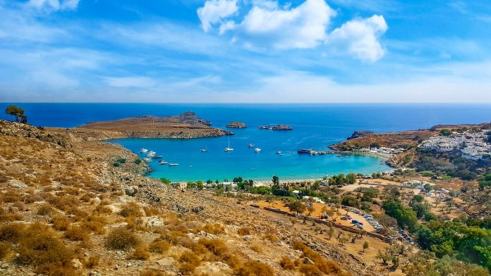 insula rhodos grecia