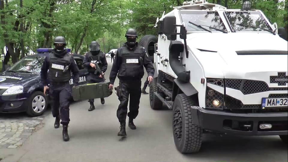 FOTO: Direcţia Generală de Jandarmi a Municipiului Bucureşti