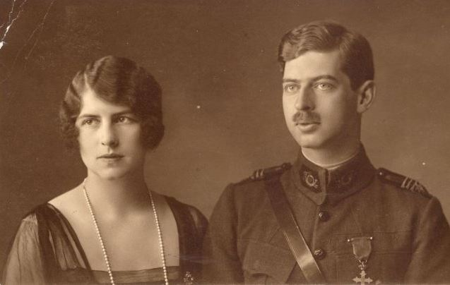 Principesa Elena și principele moștenitor Carol