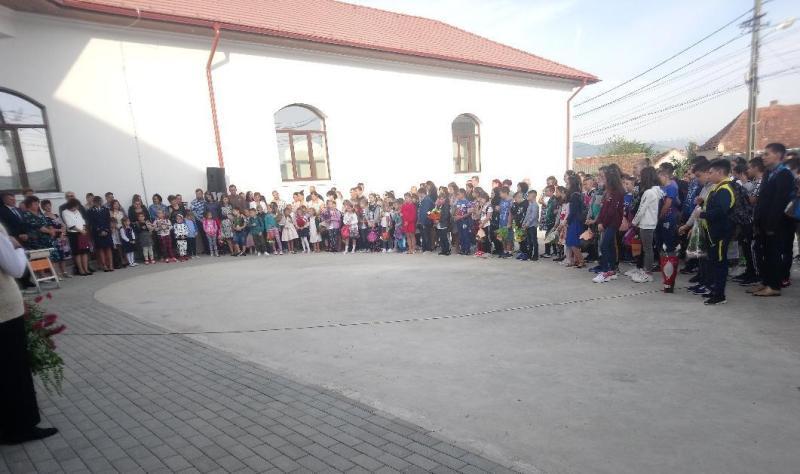 Școala din Ciugud FOTO: alba24.ro