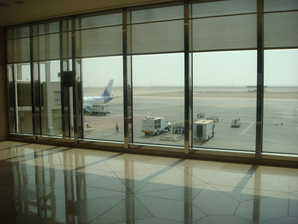 cel mai mare aeroport din lume dammam arabia saudită