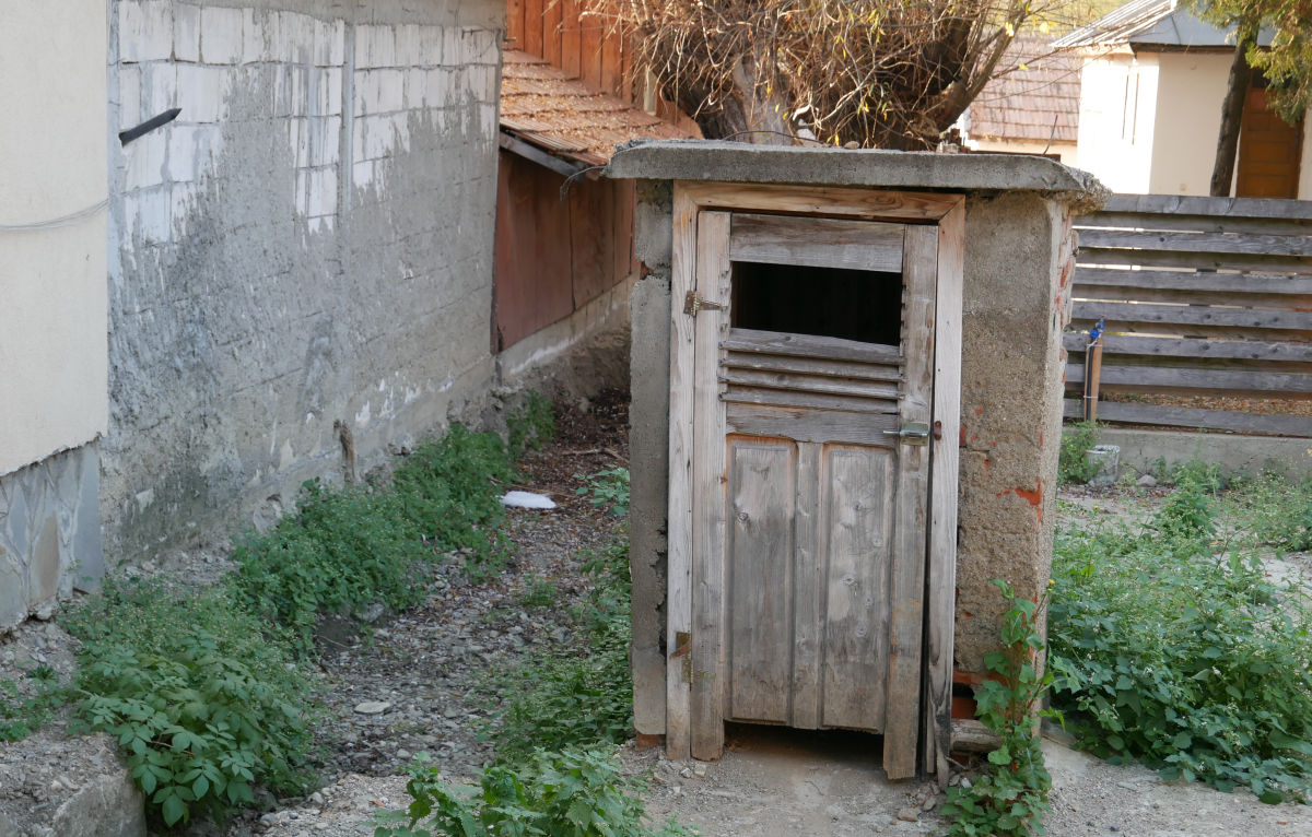 toaleta sectie politie Cerasu