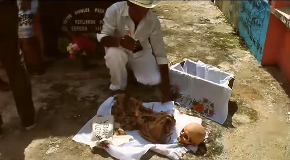 pomuch mexic cultul morților
