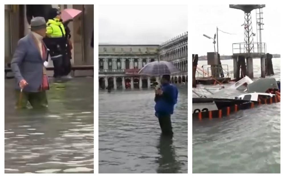 veneția inundații