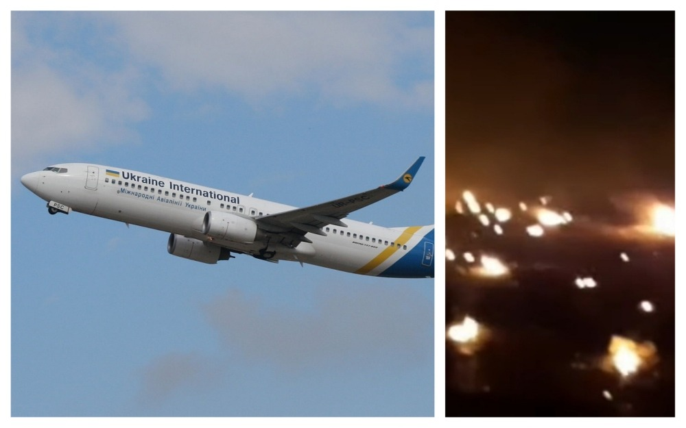 avion prăbușit în iran
