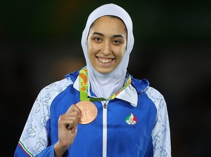 medaliată iran fugit olanda