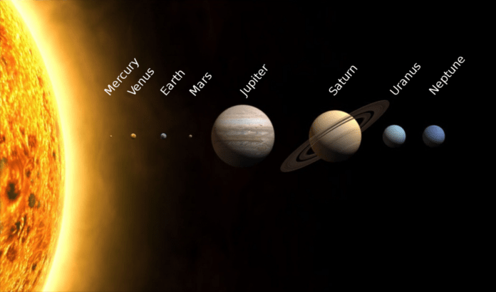 planetele sistemului solar
