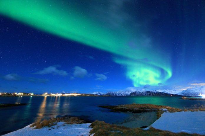 aurora boreală ce este lumina