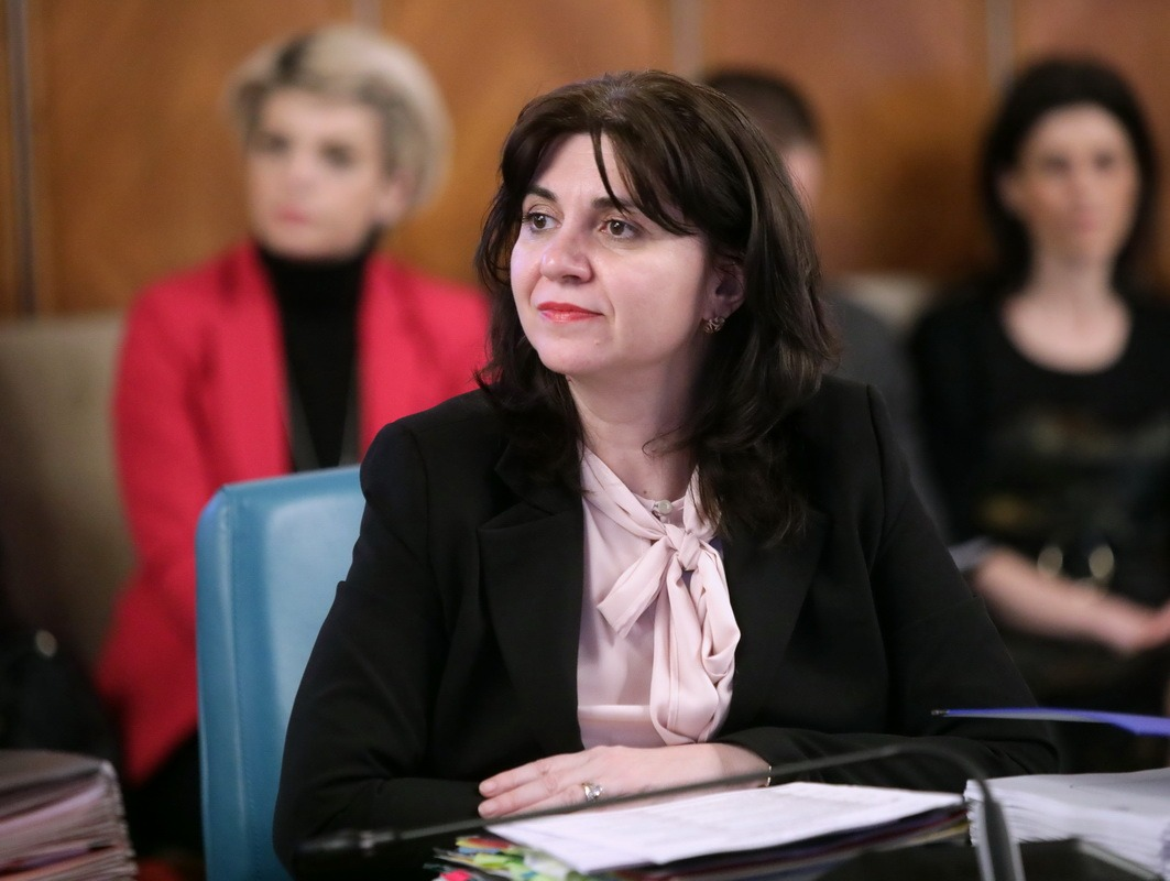 Monica Anisie FOTO: Gov.ro