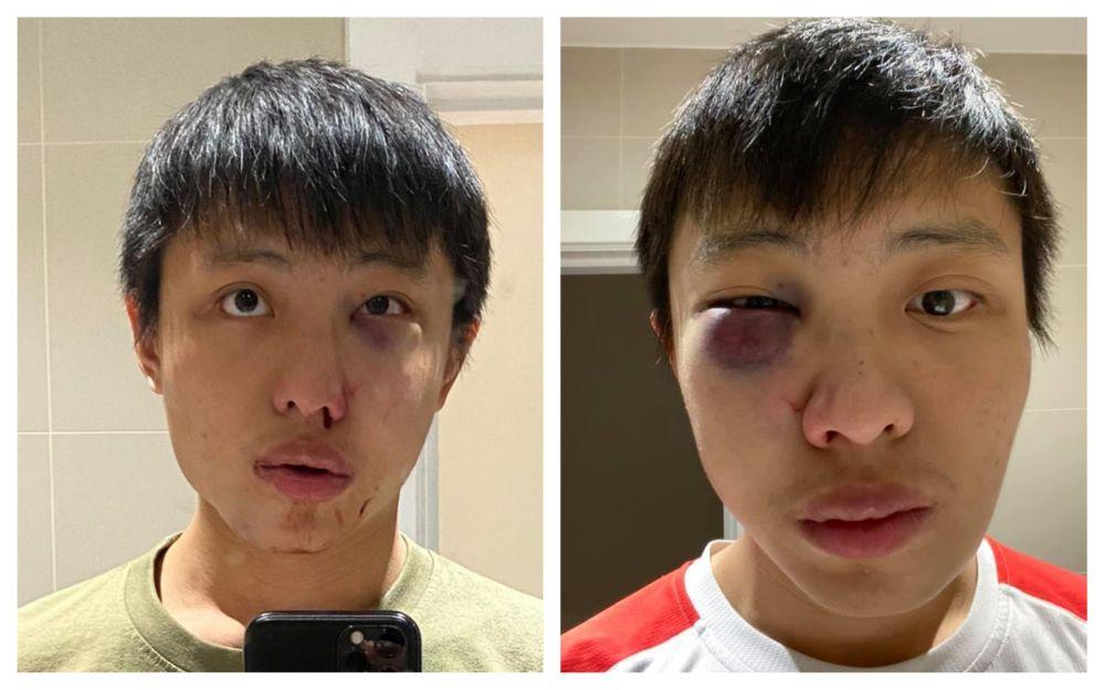 student singapore bătut londra