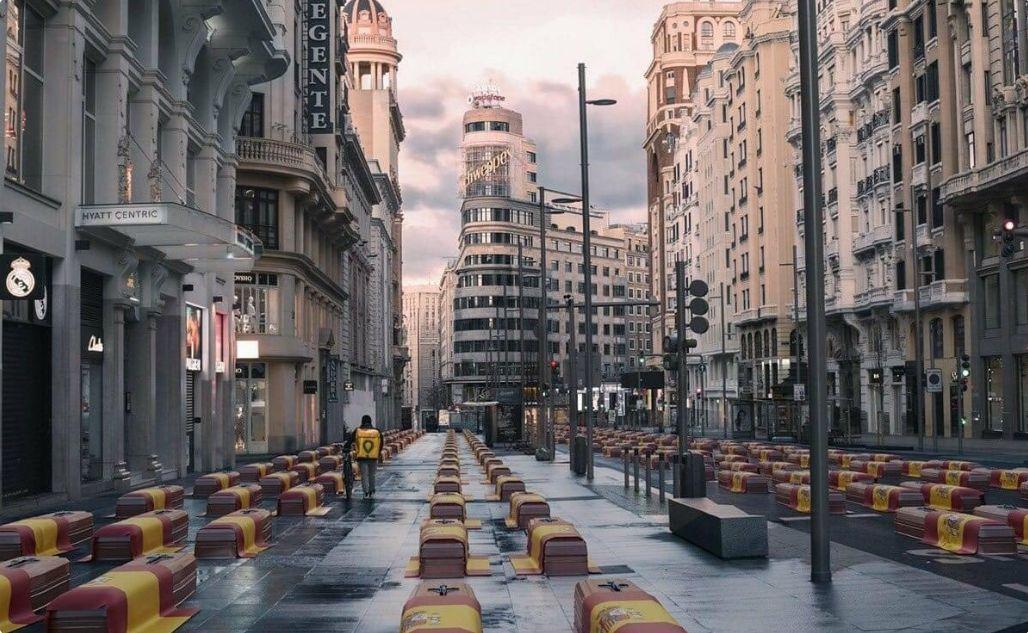 fotografia manipulată spania