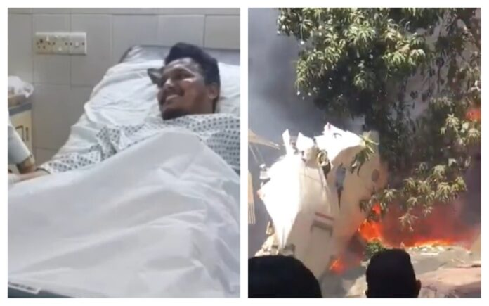 avion prăbușit pakistan supraviețuitor