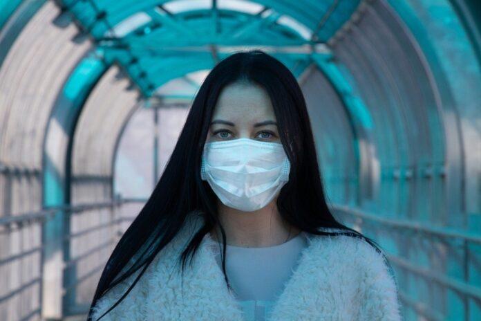 coronavirus mască