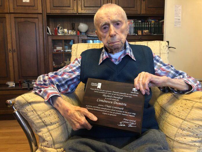 dumitru comănescu cel mai bătrân bărbat din lume