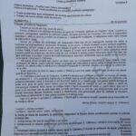 subiecte română BAC 2020 real