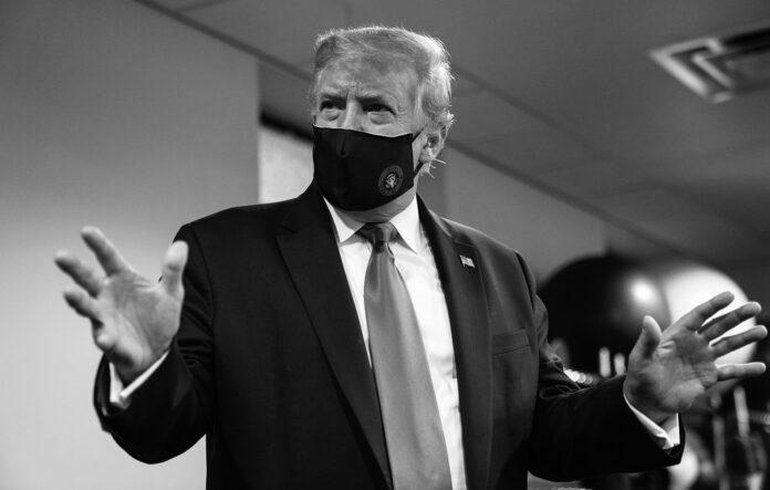 donald trump mască