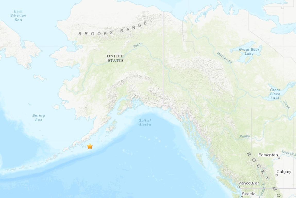 seism alaska cutremur