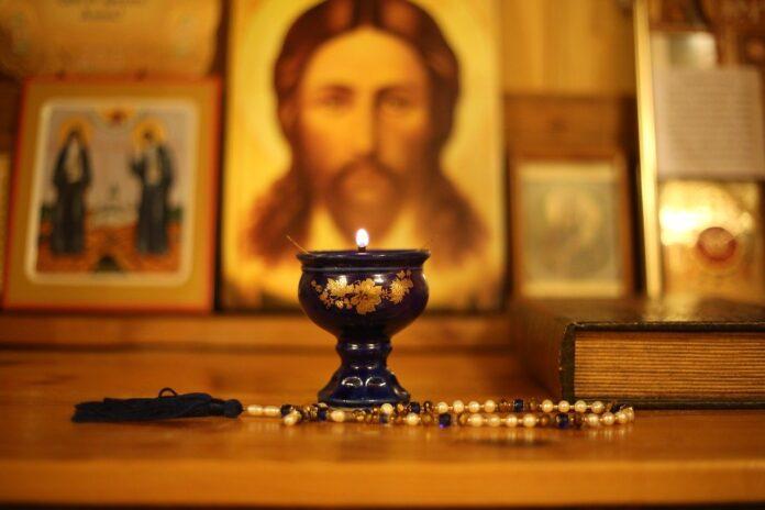 icoană ortodoxă biserică