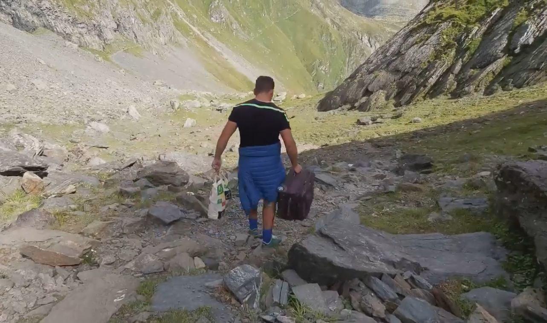 troler munte vârful moldoveanu