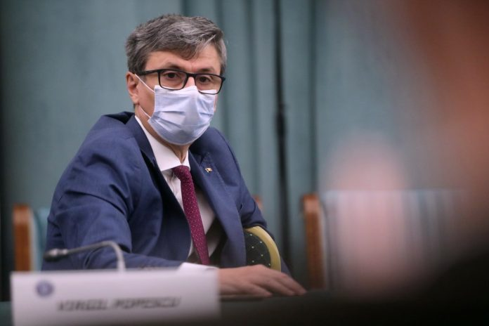 Virgil Popescu FOTO: Gov.ro