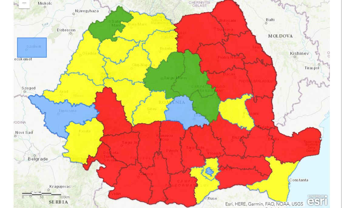 harta alegerilor