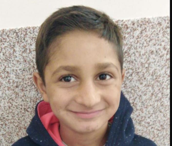Copil dispărut în Arad FOTO: Poliția Română