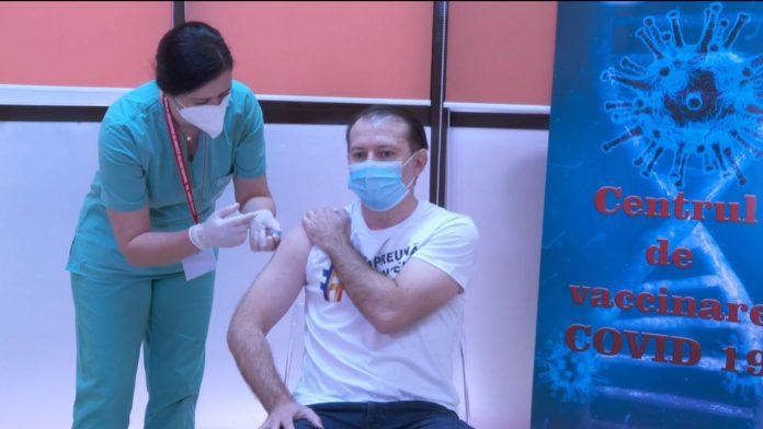 florin cîțu vaccinat