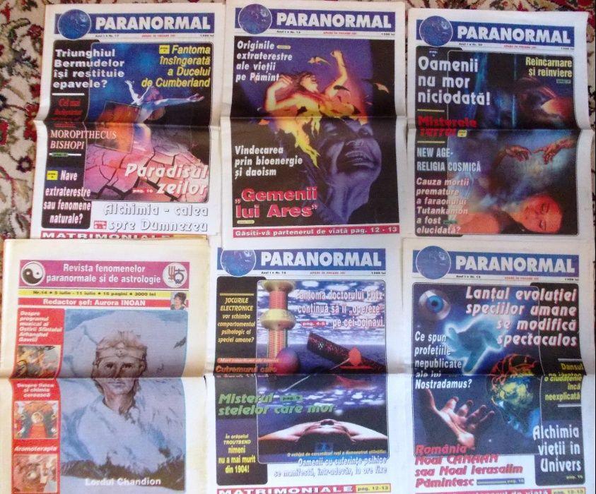 revista fenomenelor paranormale
