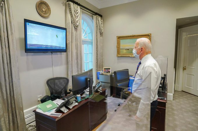 Joe Bide FOTO: President Biden/witter