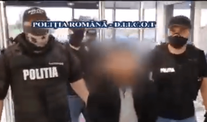 FOTO: Captură video Youtube/Poliția Română