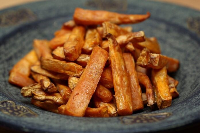 cartofi dulci calorii