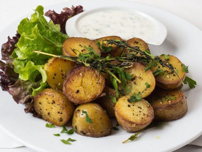 cartofi la cuptor calorii