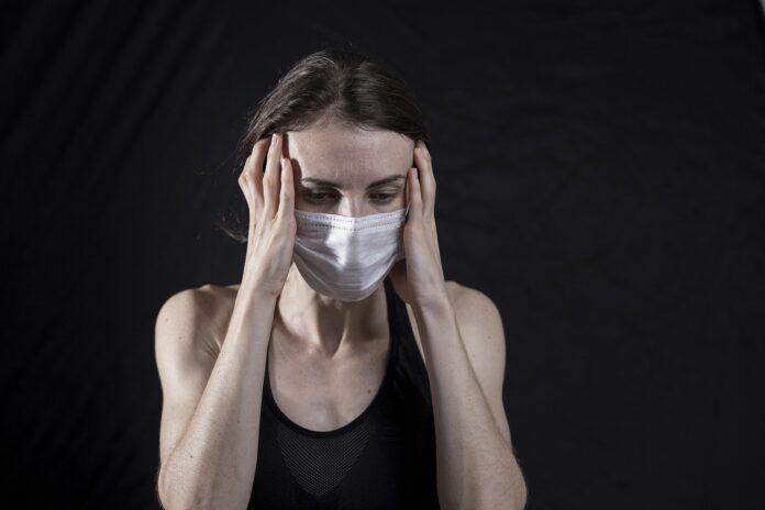 anxietate covid mască