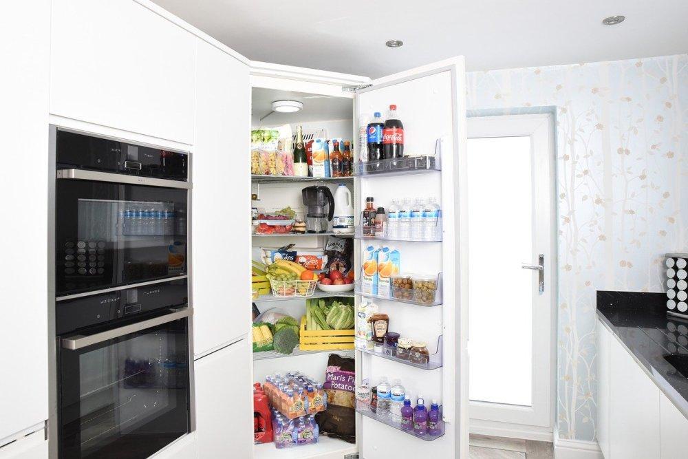 frigider bucătărie cuptor