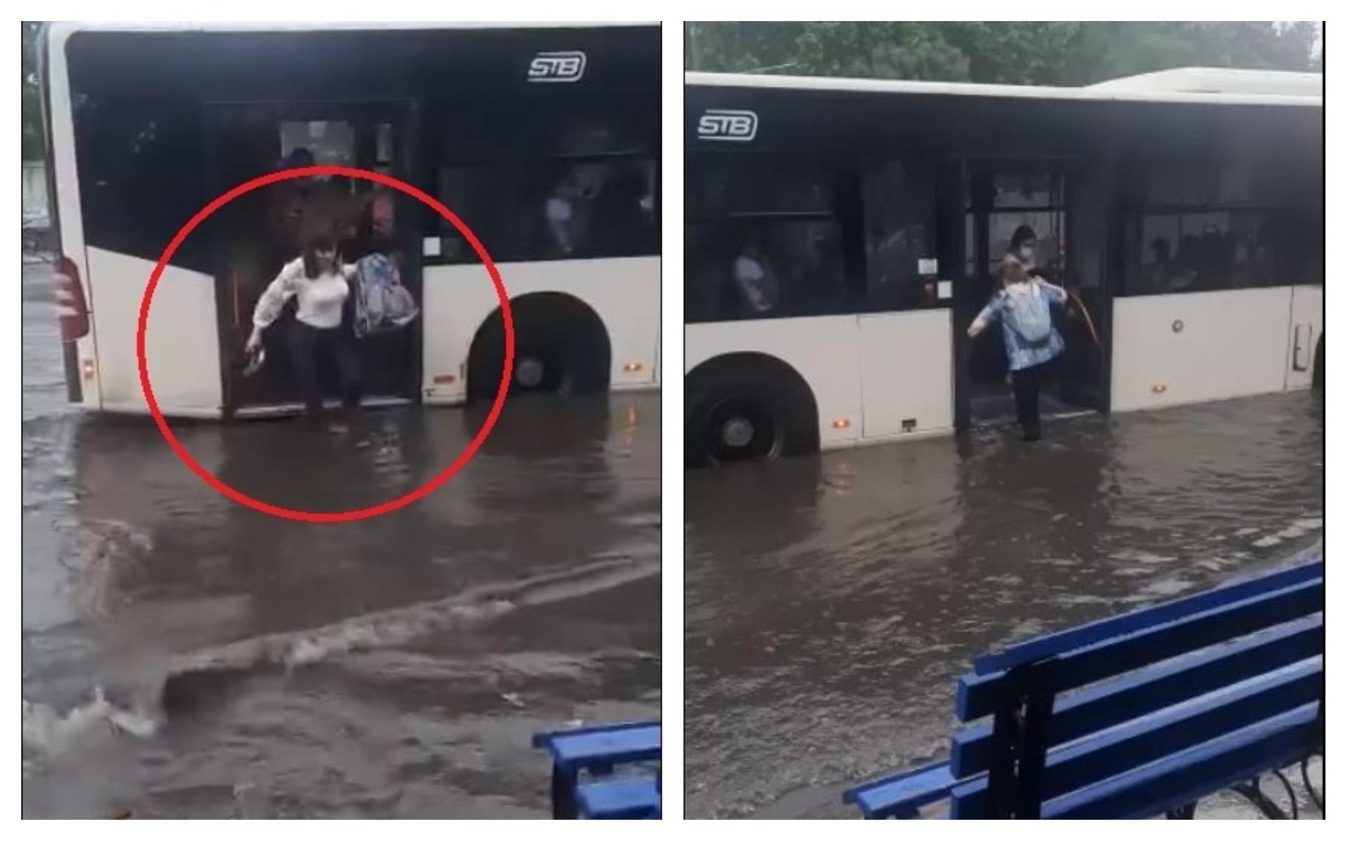bucurești inundat