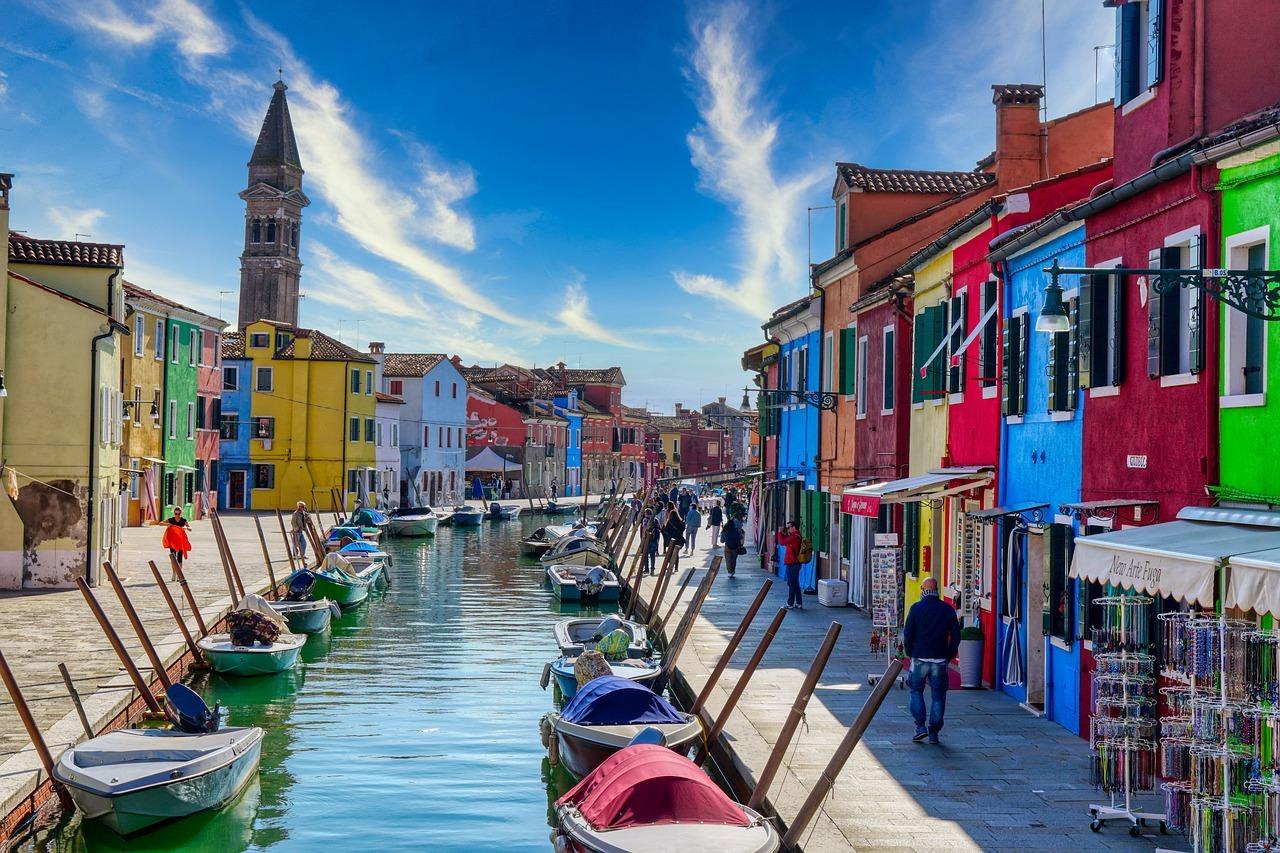 Burano, Italia FOTO: gabmarjan/Pixabay.com