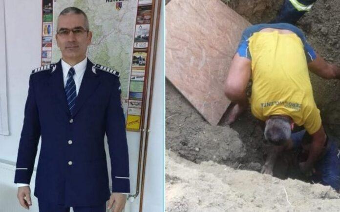Polițistul Iulian Creț FOTO: IPJ Hunedoara